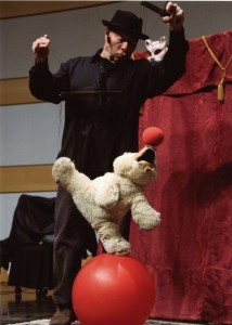 Bruno The Juggling bear